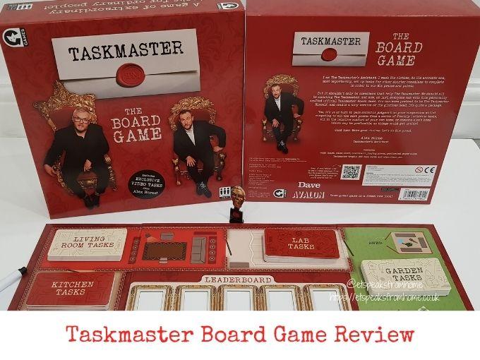 Taskmaster Board Game Review