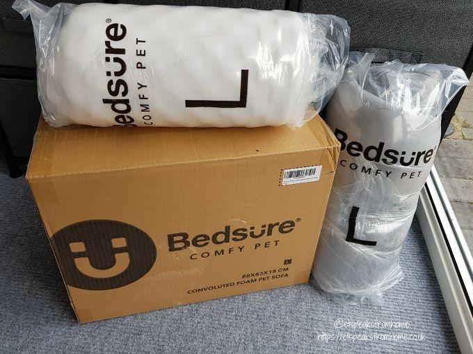 Bedsure Large Dog Sofa Bed box