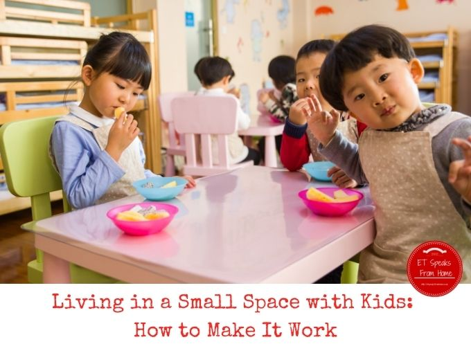 Living in a Small Space with Kids How to Make It Work