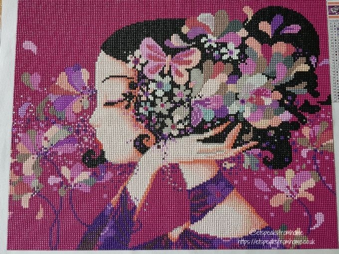 Diamond Painting By Craft-Ease floralie