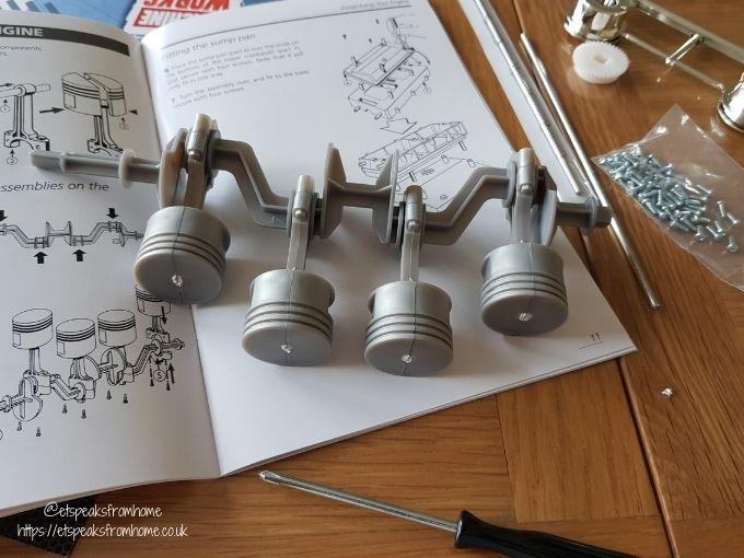 Haynes 4 Cylinder Engine AR engines