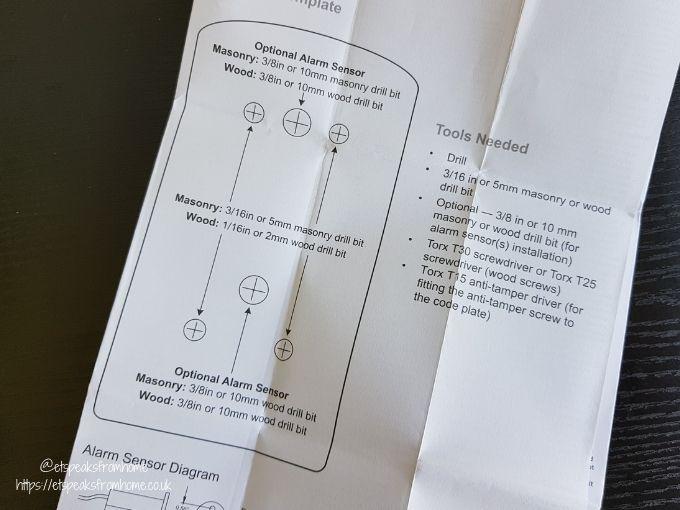 Key Safe Supra P500 template