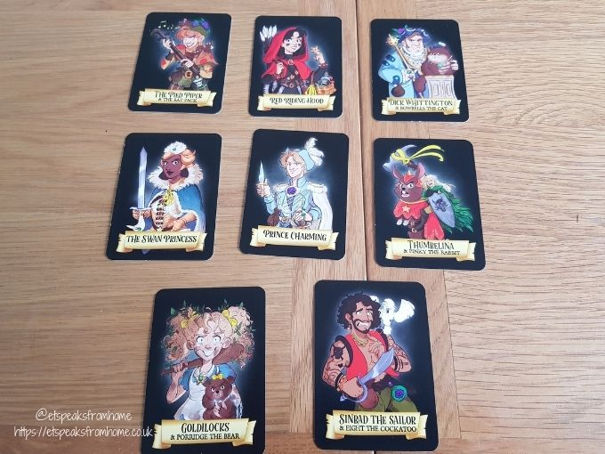 foul play card game once upon suspects