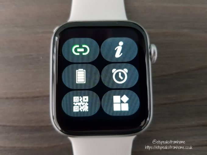 Watchd Smartwatch shortcut