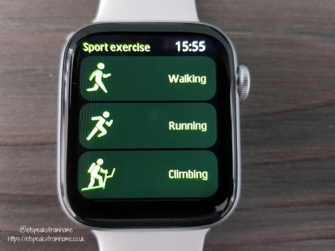 Watchd Smartwatch sport exercise