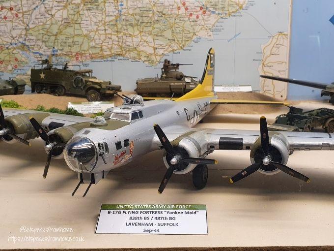 Midland Air Museum air craft model