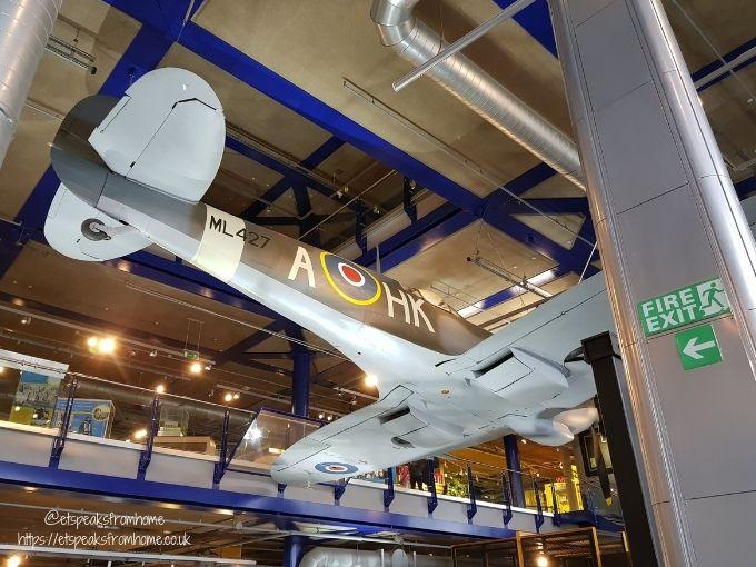 Thinktank Birmingham Science Museum plane