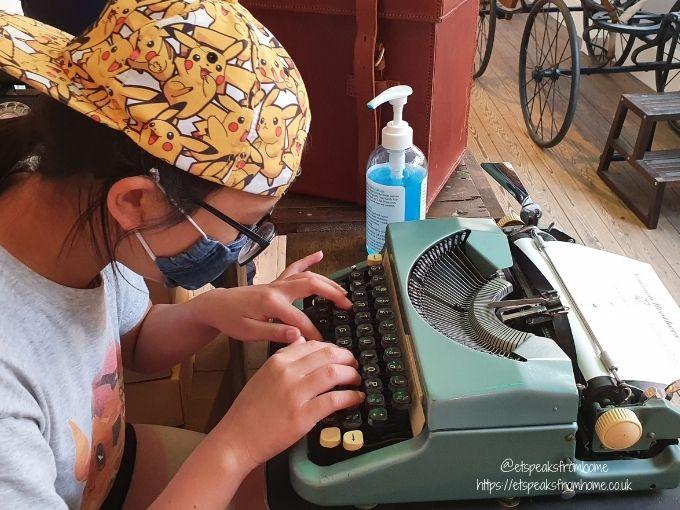 the coffin works typewriter