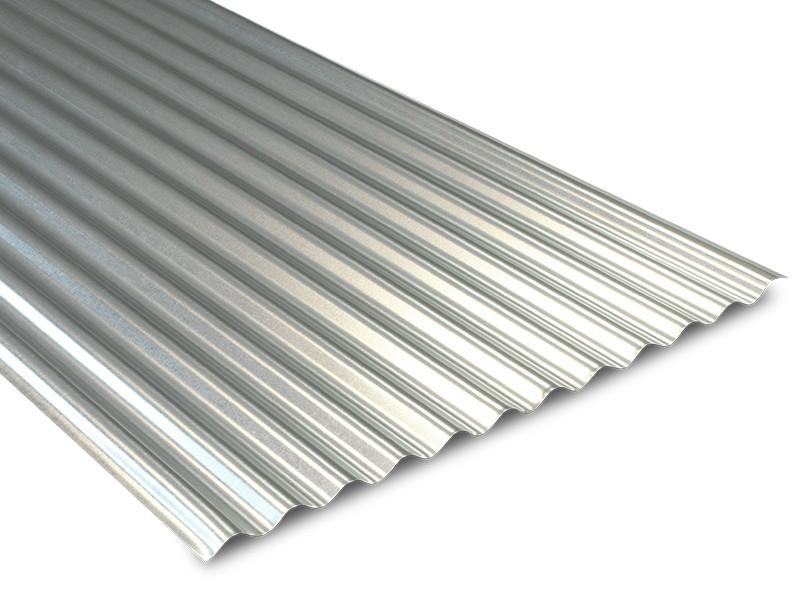 Tôle ondulée galvanisée pour couverture métallique