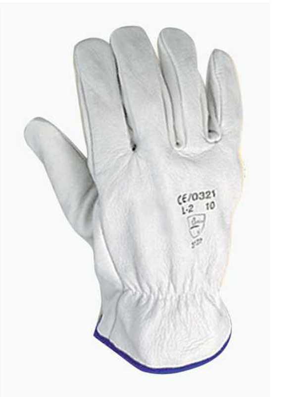 gants de protection en cuir de vachette