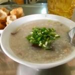 Cháo: Rice porridge with grilled squid scent Quán Cháo Mực 10