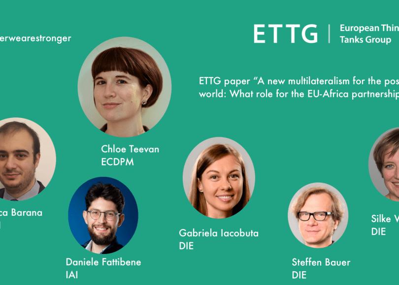 ETTG collective paper ECDPM - IAI - DIE
