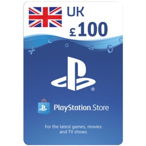 PlayStation Network Gift Card 100 GBP PSN UNITED KINGDOM