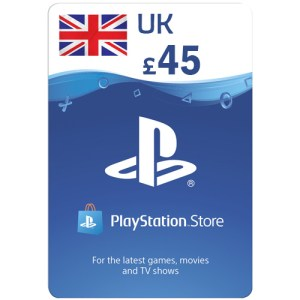 PlayStation Network Gift Card 45 GBP PSN UNITED KINGDOM