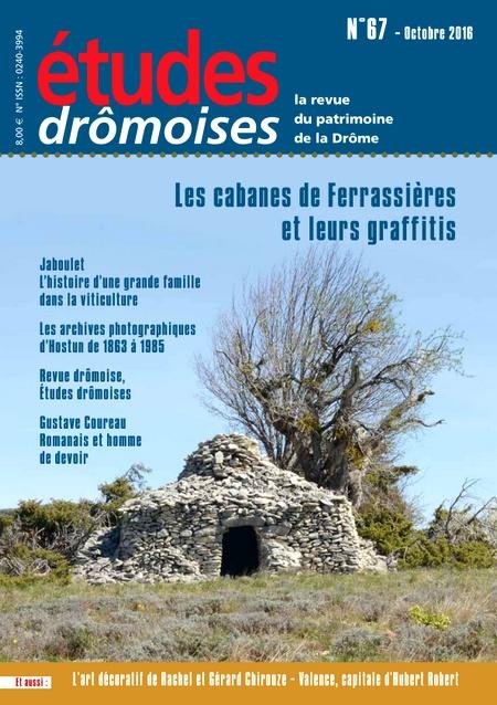 revue Etudes drômoises n° 67