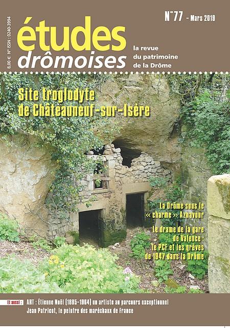 Etudes drômoises 77 - 2019