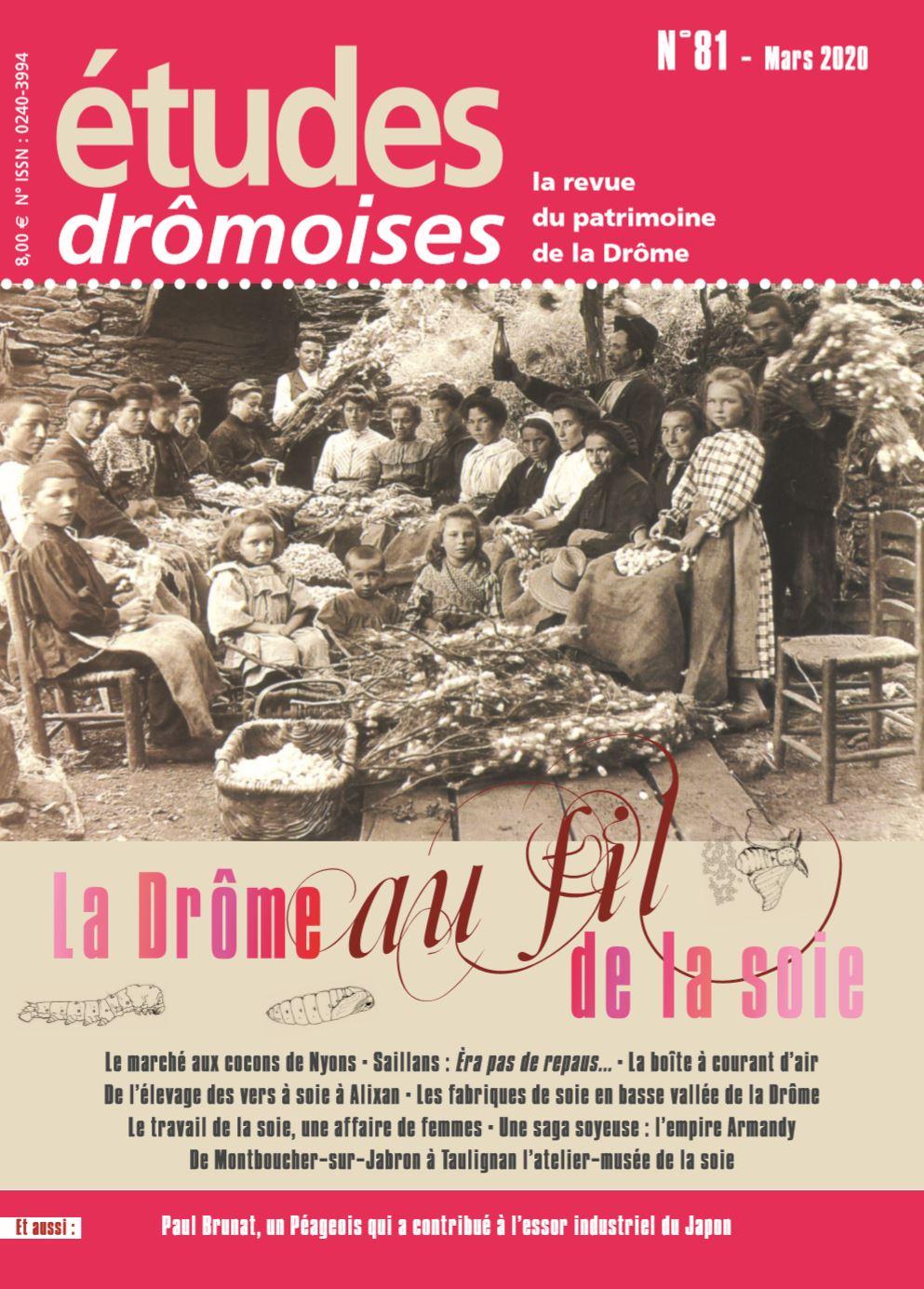 Etudes drômoises la soie en Drôme