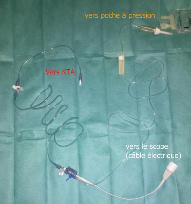 set pour PA invasive