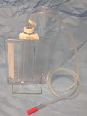 Bocal d'aspiration pour drainage thoracique