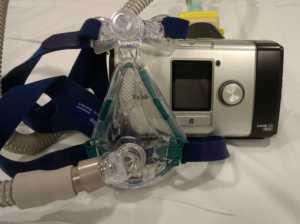 système de vni complet avec masque à fuite et filtre