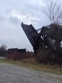 site: Jordan Abel - bascule bridge, Smiths Falls