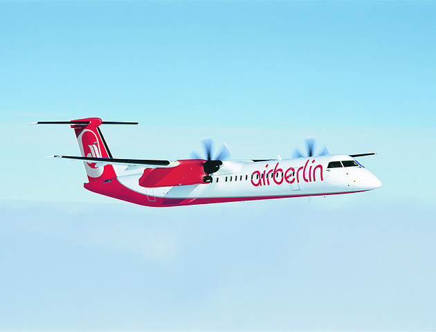 Air Berlin setzt erste Q400 ein