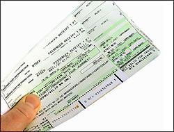 Gefälschte Flugtickets in Berlin und Brandenburg im Umlauf