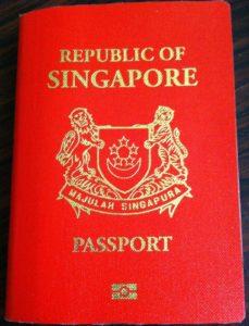 Den besten Reisepass der Welt hat Singapur