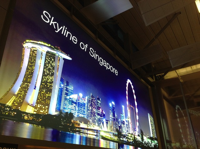 Internet am Flughafen Changi