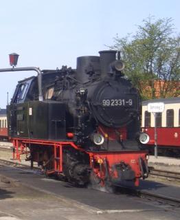 Molli-Lokomotive demnächst auf Borkum unterwegs