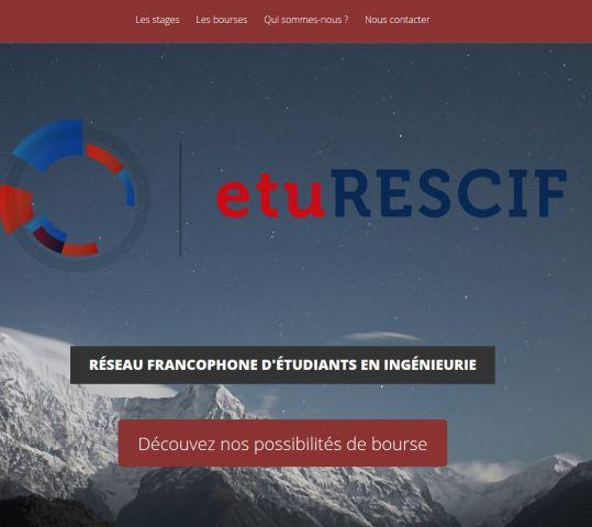 EtuRESCIF.net fait peau neuve