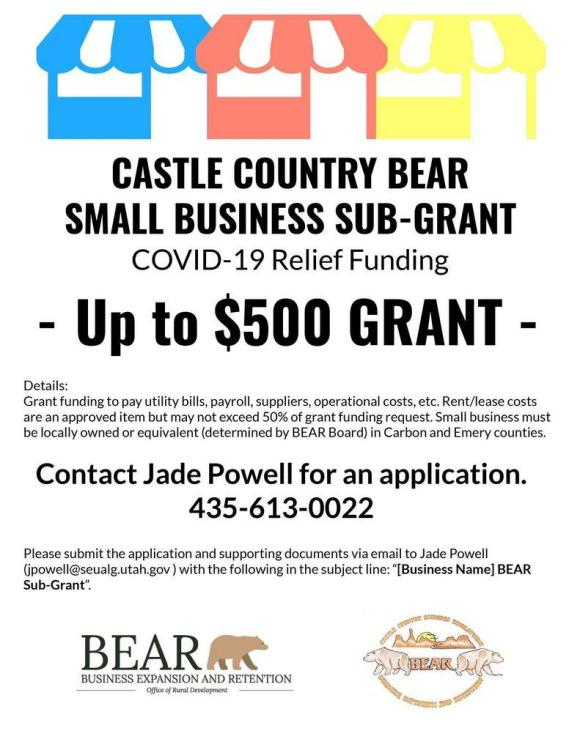 Funding Available Through Castle Country BEAR Small Business Grant ...