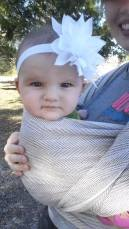Babywearing Katelyn