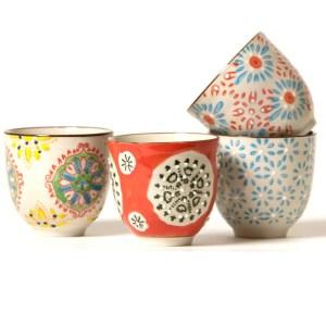 Gobelets céramique bohemian Etxe Mia!