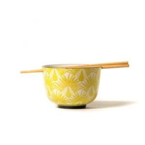 bol à riz jaune Etxe Mia!