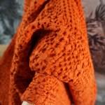 plaid orange rooïbos bid d'abeille Etxe Mia!