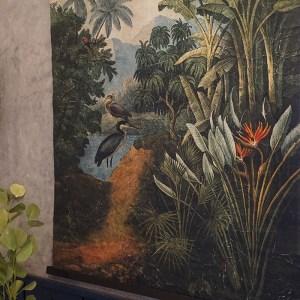 toile verte jungle pelican Etxe Mia!