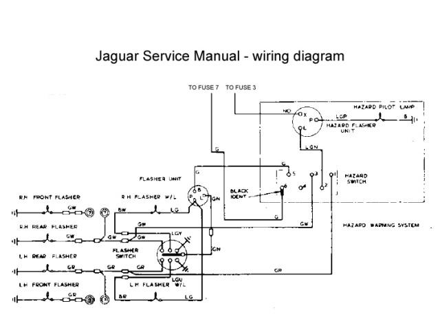 Jaguar Xj6 Wiring Schematic Wiring Diagram – Jaguar Tachometer Wiring Diagram Electric