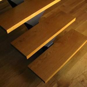 מדרגות עבודת עץ