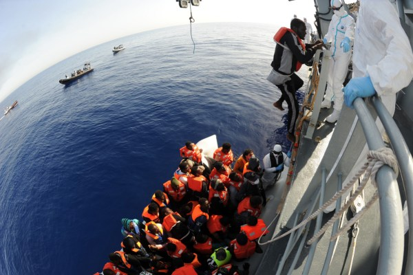 encouraging people smugglers