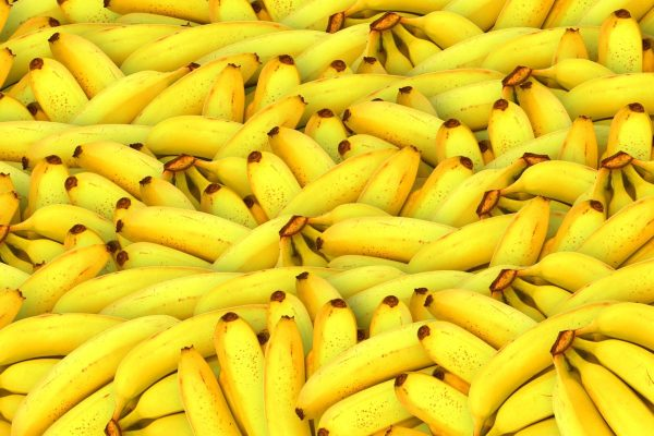 fake bananas