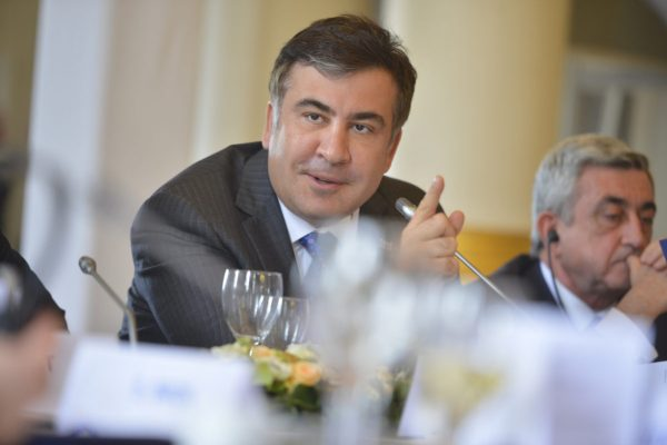 Saakashvili supporters clash