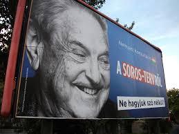 Anti-Soros bilboards in Hungary