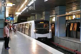 Bucharest metro stop