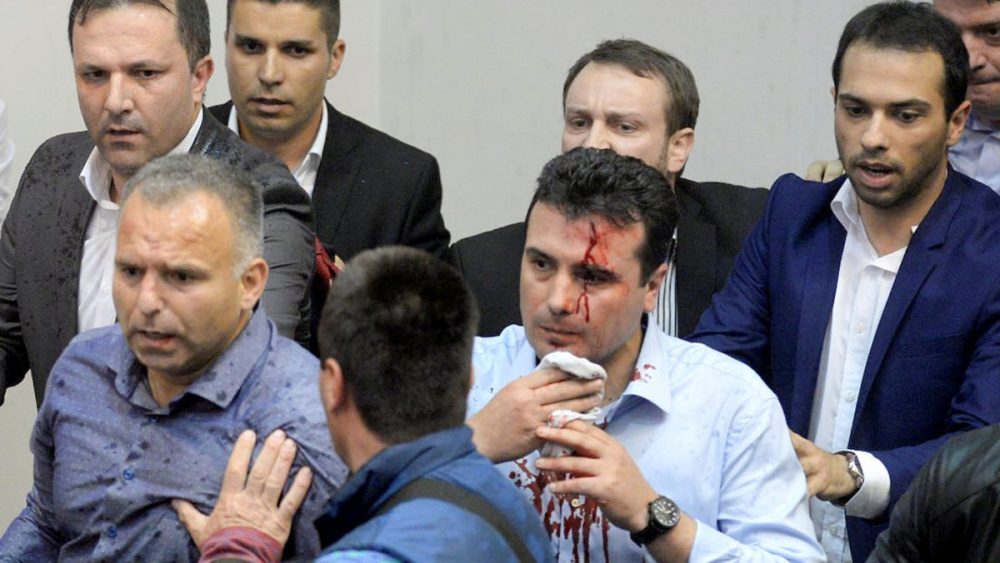 The Macedonian parliament attack was masterminded by senior VMRO-DPMNE officials, according to Aleksandar Vasilevski, a defendant in the trial