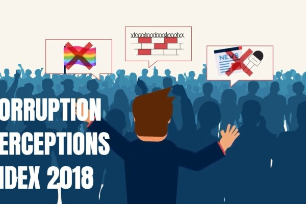 Transparency Internation releases its 2018 corruption perceptions index