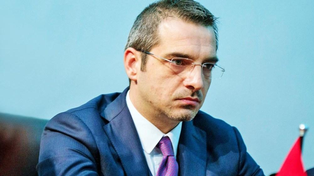 Former Albanian Interior Minister Saimir Tahiri