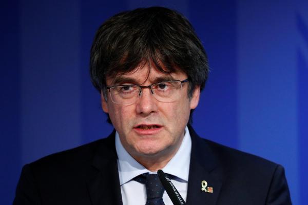 Former Catalan regional president Carles Puidgemont