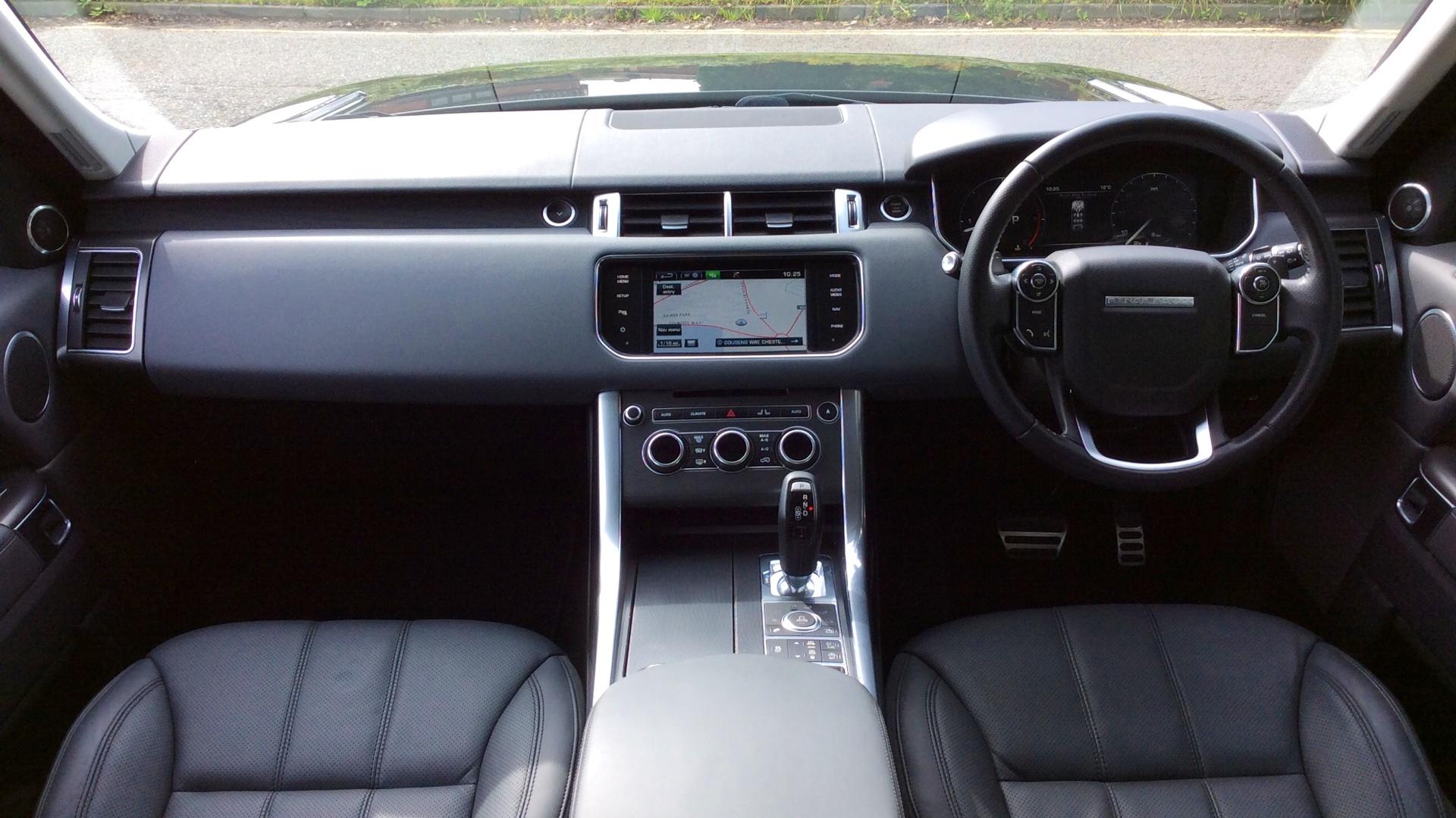 Used Land Rover Range Rover Sport HSE Dynamic SDV6 Black DG14MTZ