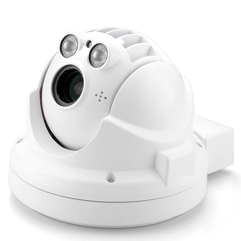 Outdoor Weatherproof Mini IP Camera - 720p, H.264 Compression, PTZ, 4x Optical Zoom, Night Vision, ONVIF Support, iOS APP
